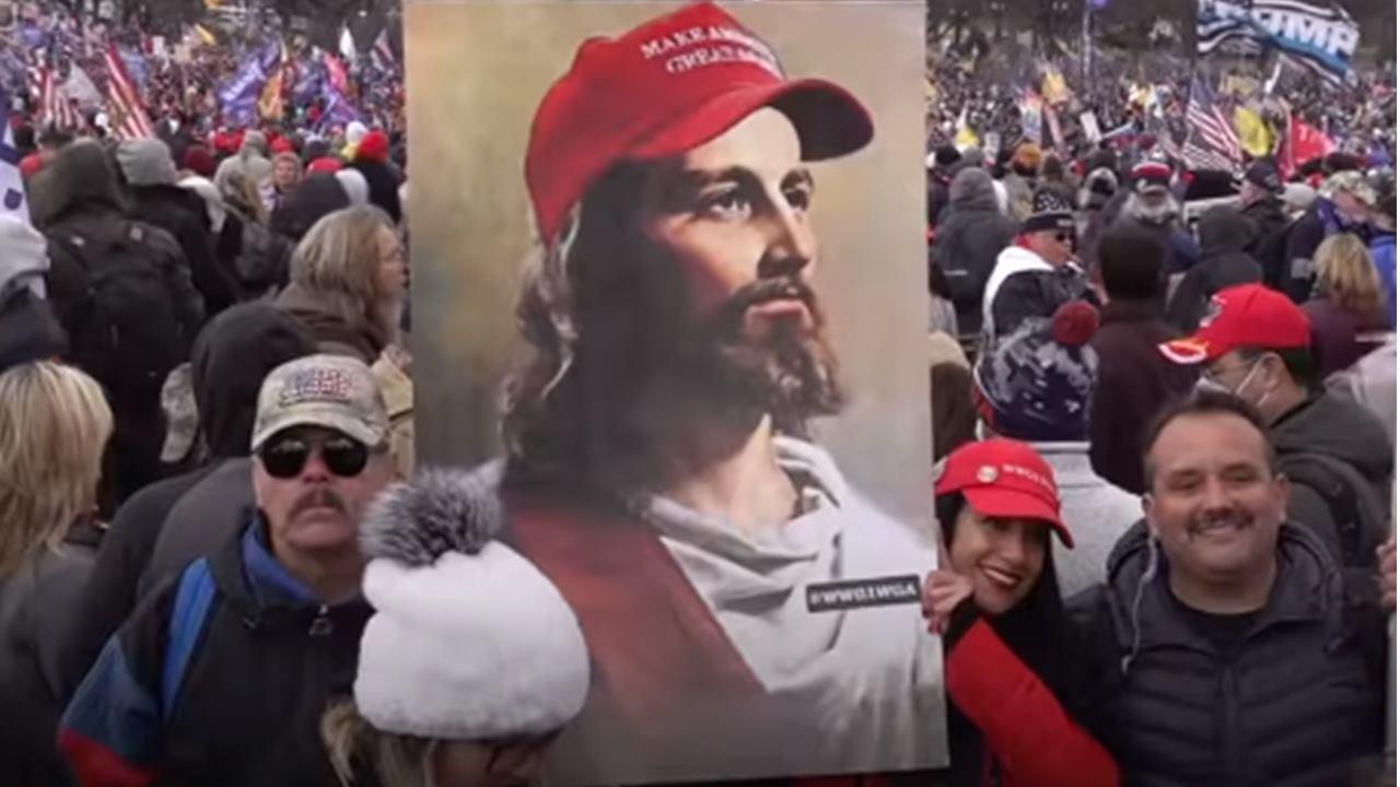 wHITE jESUS maga
